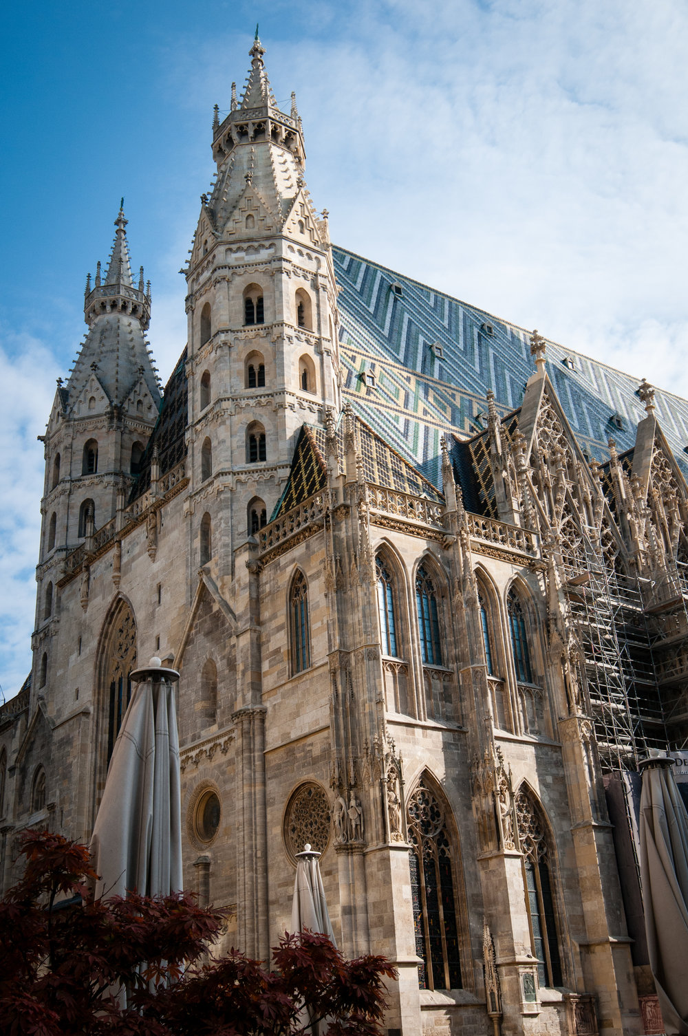 Exterior Facade - St. Stephen's Cathedral, Vienna