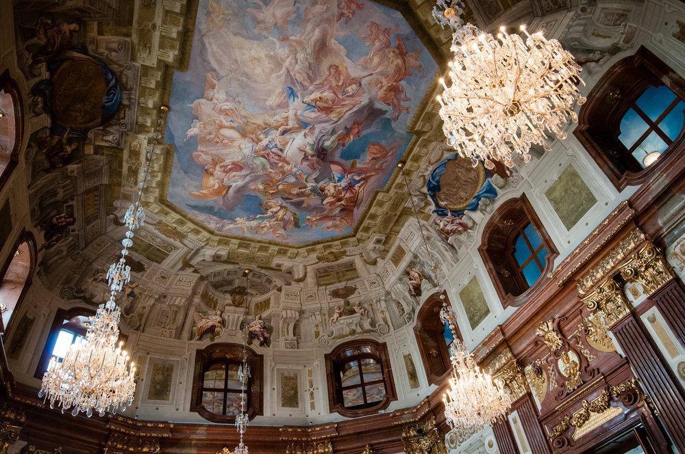 Ceiling Vault, Belvedere Palace, Vienna