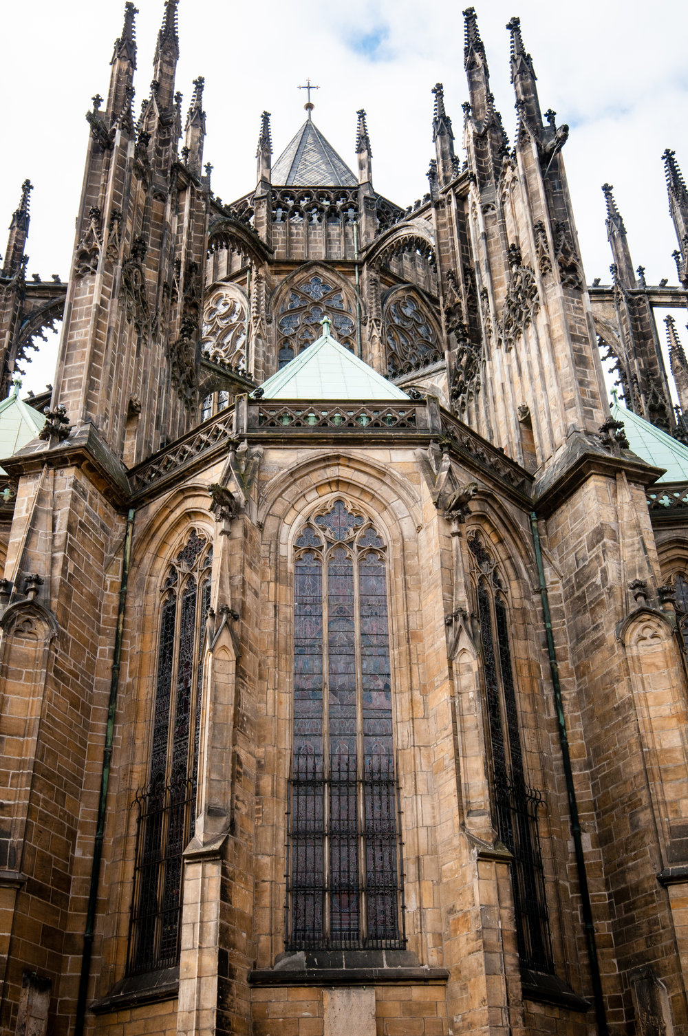 Rear Facade, St. Vitus Cathedral, Prague
