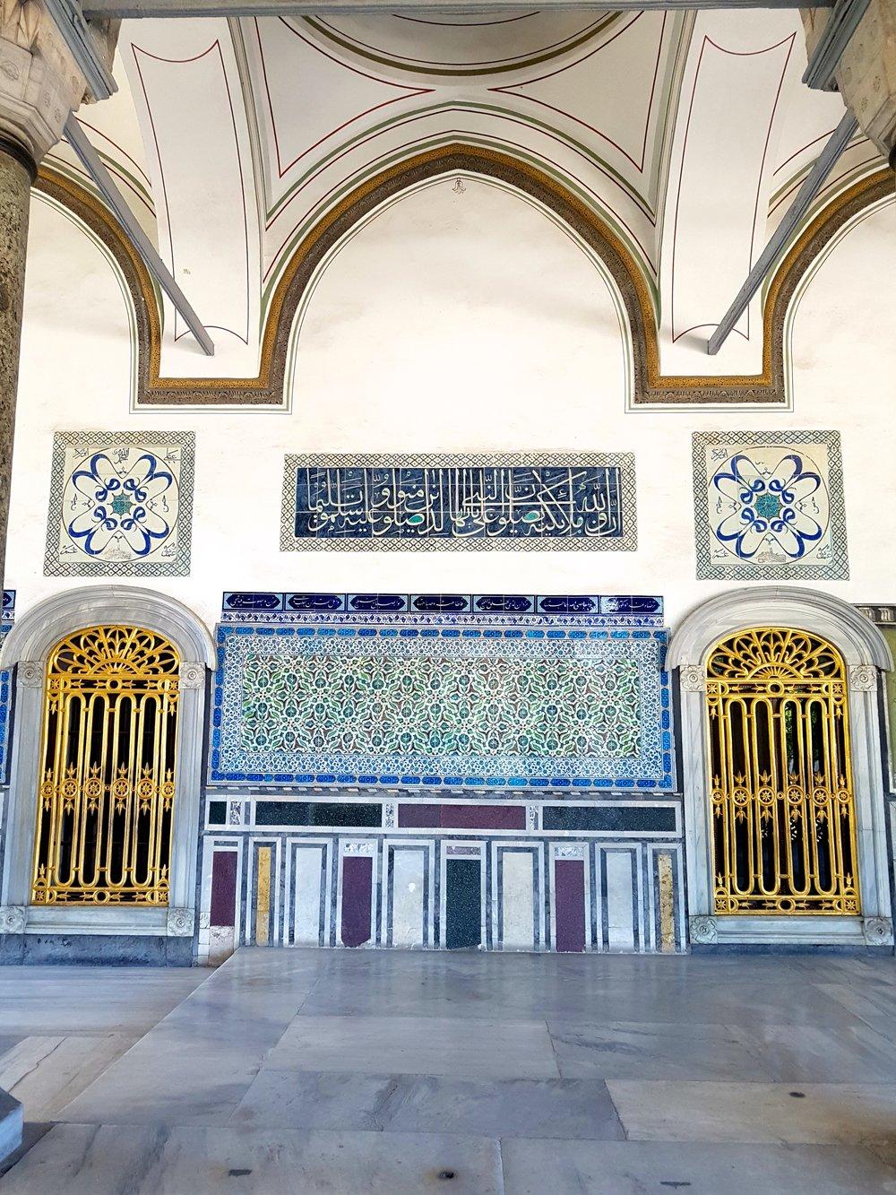blue mosaic inspiration istanbul