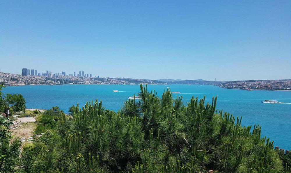 Blue azure Istanbul