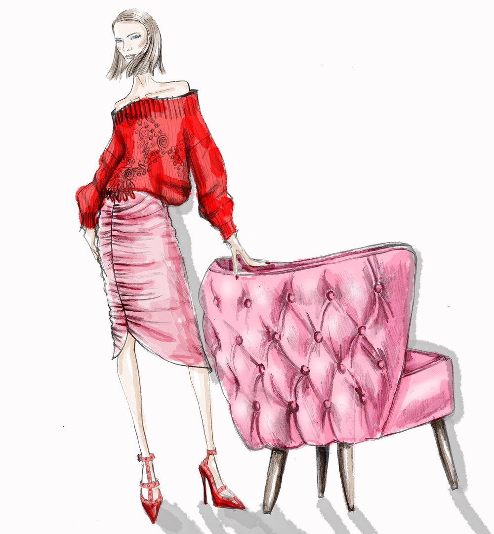 lynda-sparshatt-neeshe-illustration-pink-accent-chair .jpg