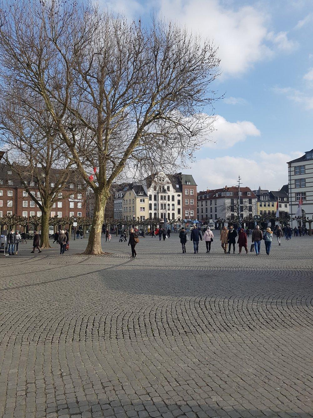 Dusseldorf town centre