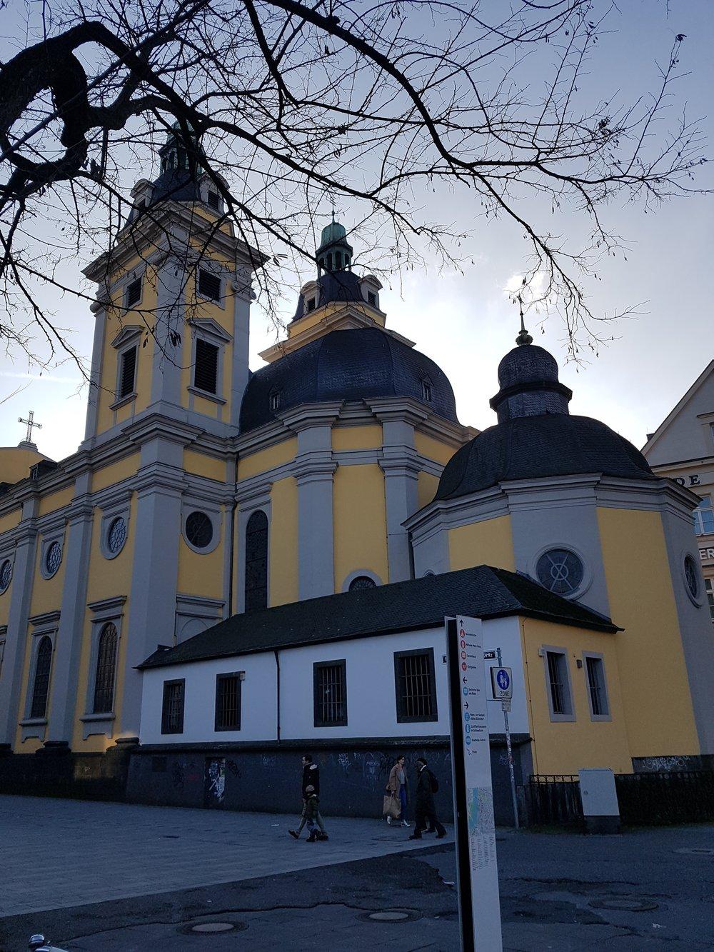 church in Düsseldorf