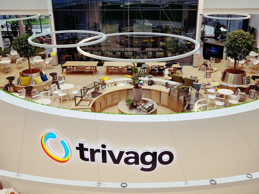Trivago campus cafe entrance