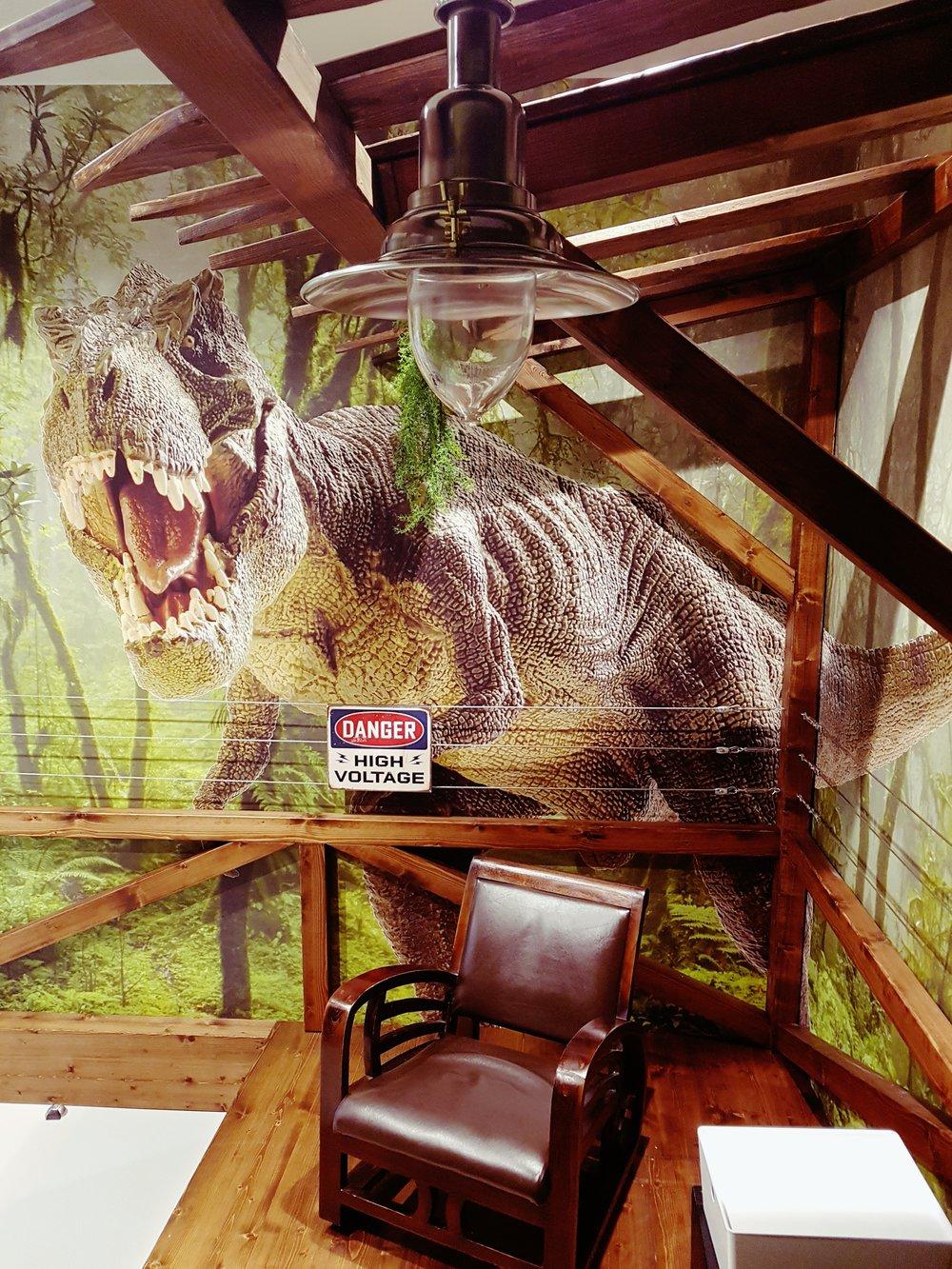 Jurassic Park room trivago campus