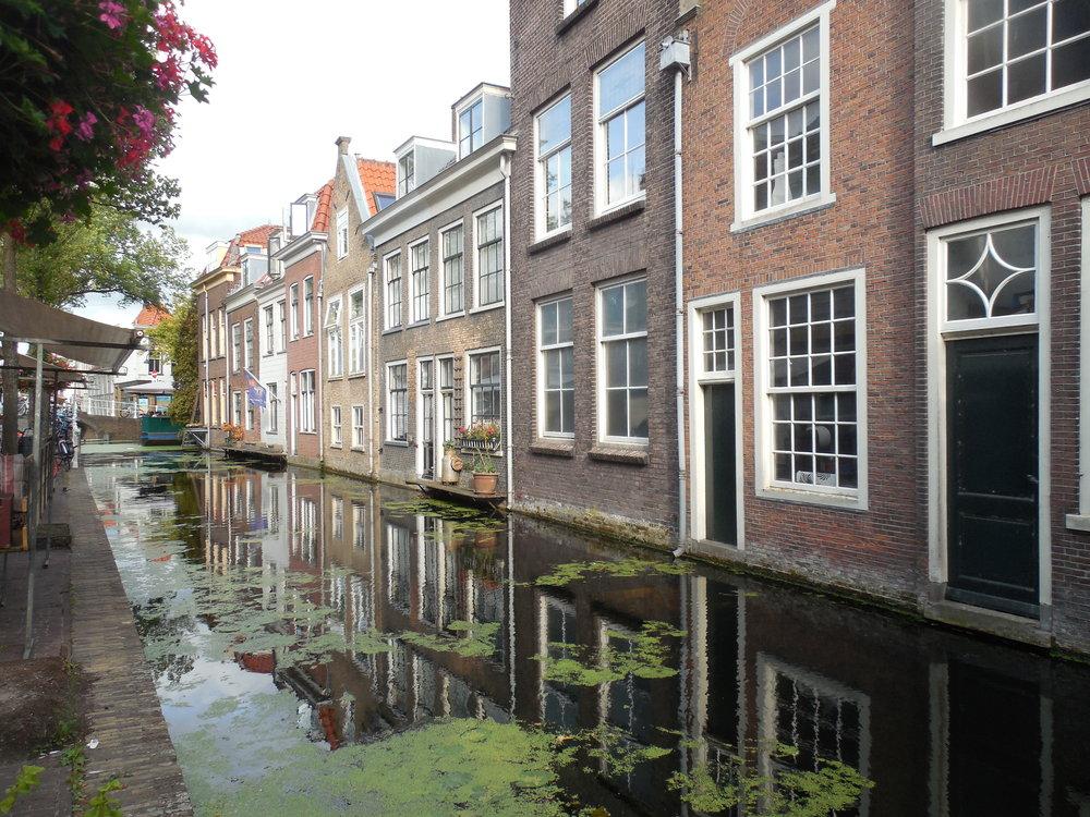 Art holidays, Delft canals