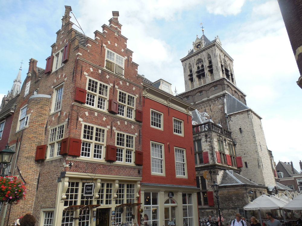 art holidays netherlands Delft old town