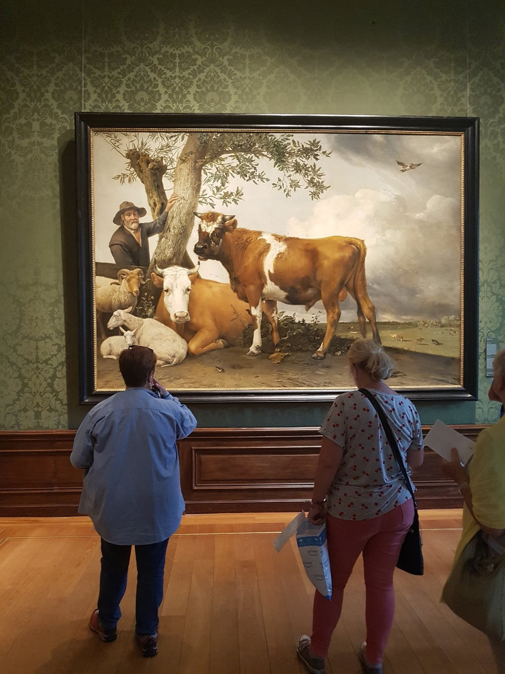 art holidays mauritshuis large cow