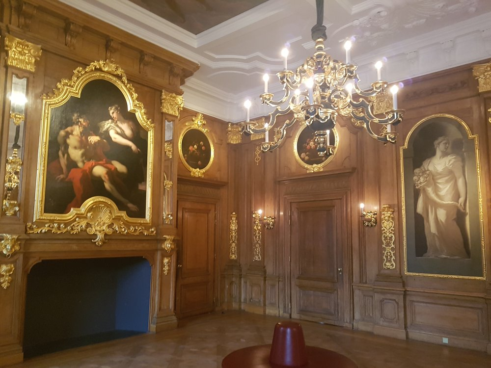 The interiors of the Mauritshuis gallery the hague