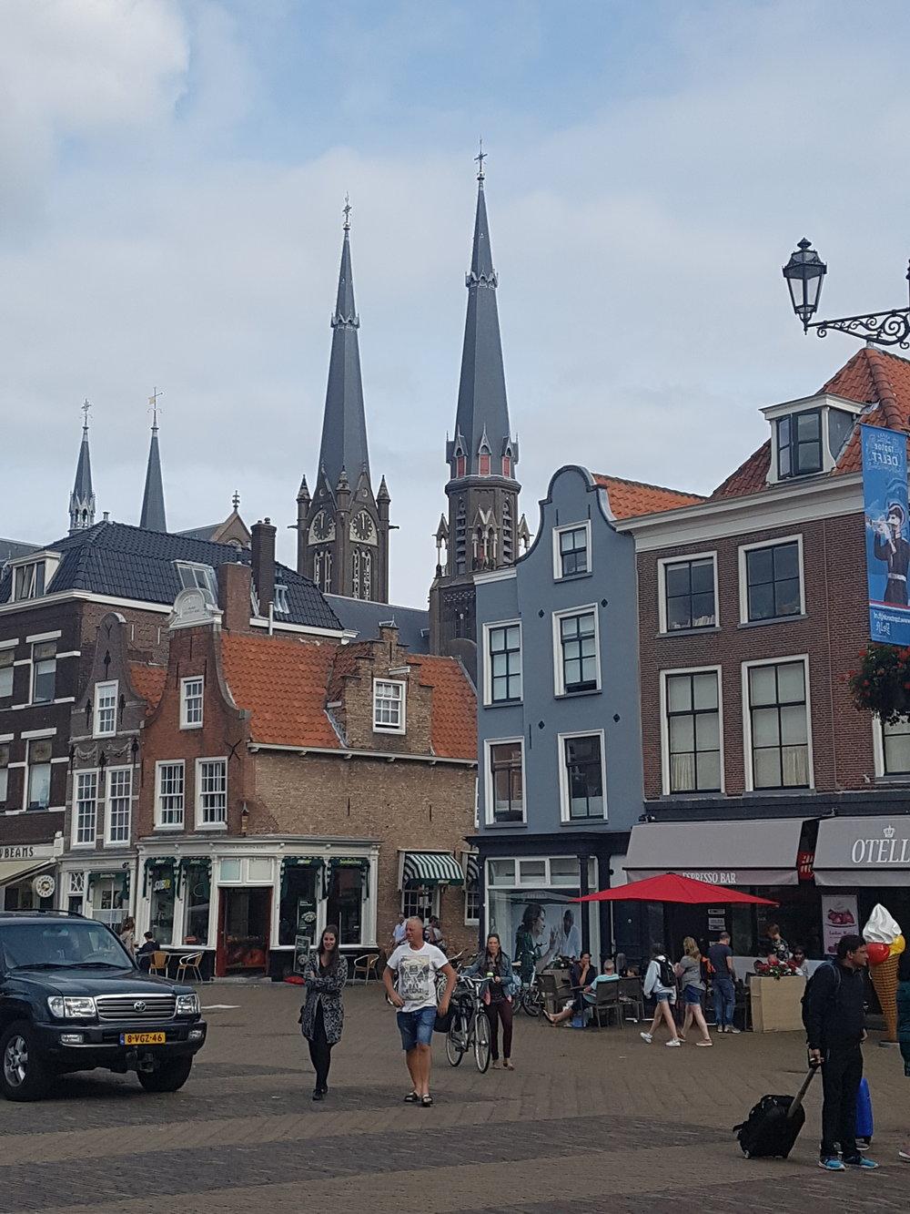 Delft town centre