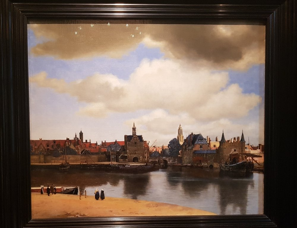 vermeer delft cityscape Mauritshuis art holidays
