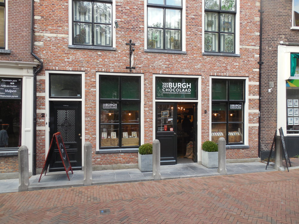 chocolate shop in Delft