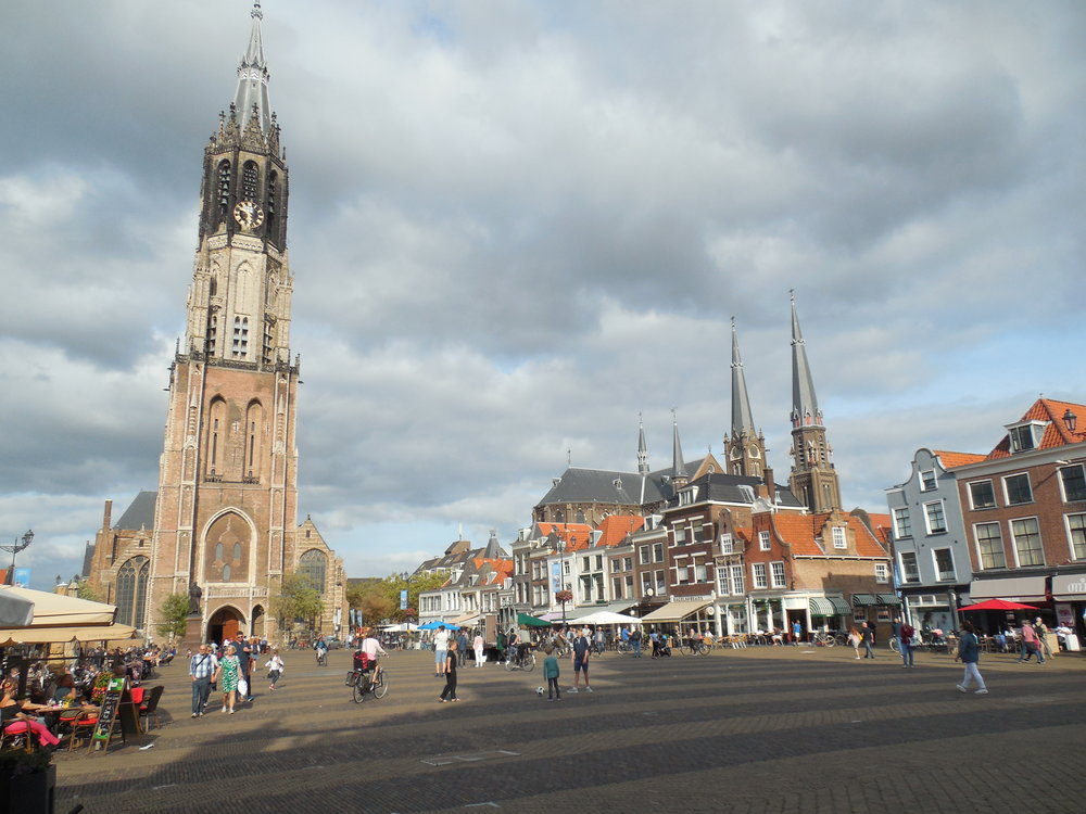 Delft town centre art holidays