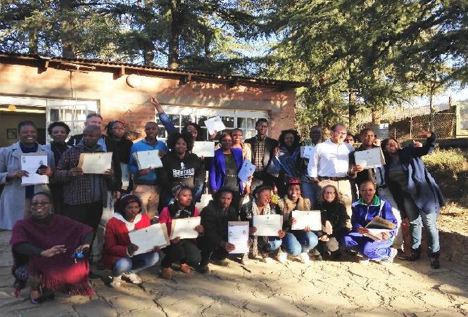 Lesotho Trainer of Trainer Graduates