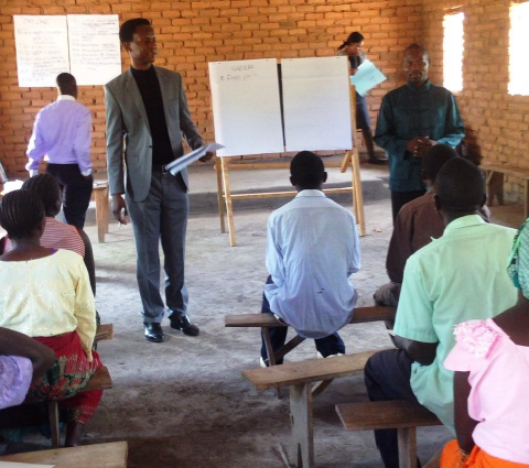Grief Training in Malawi