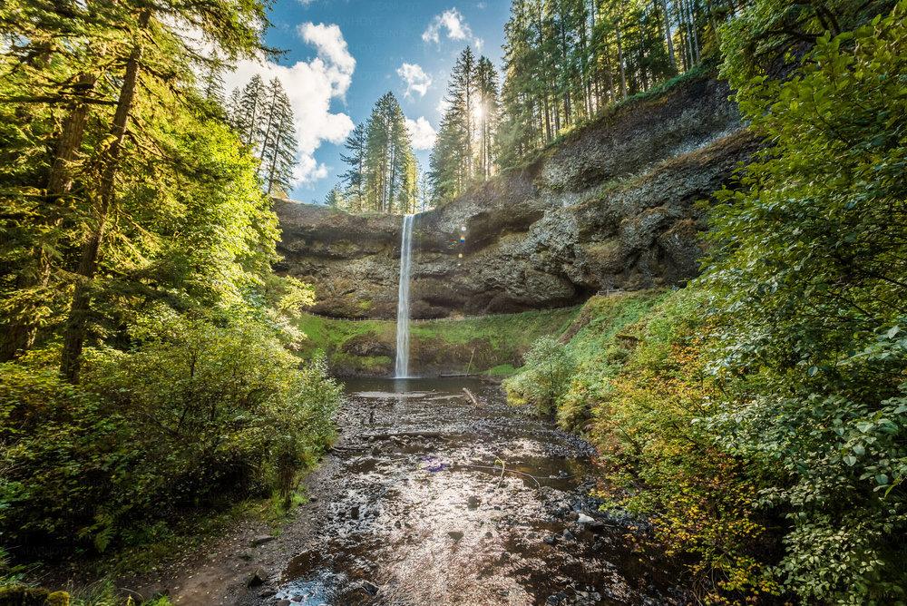Waterfalls galore -