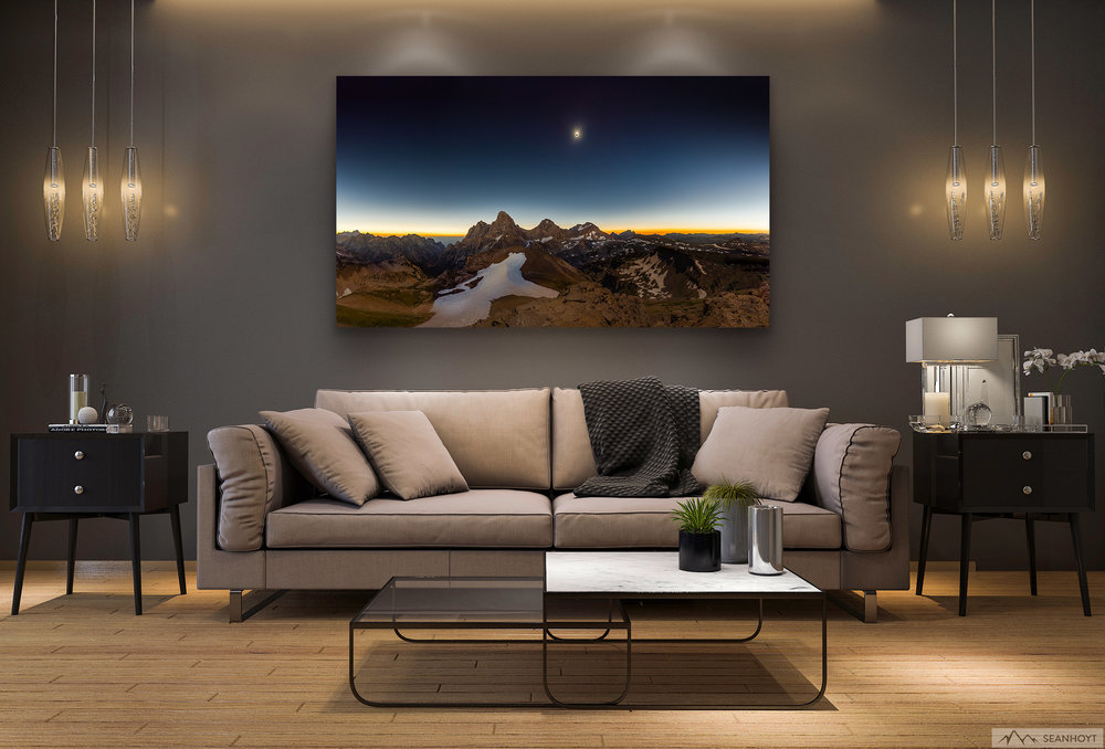 This acrylic print is available in a variety of sizes.  Shop now >