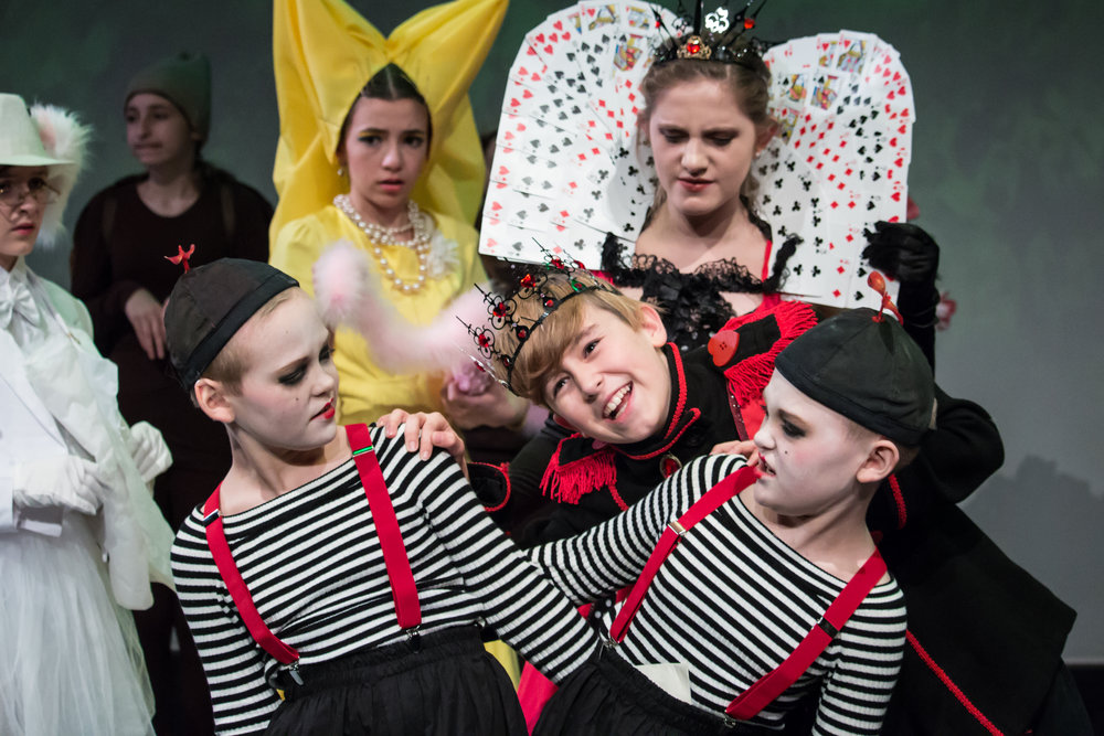 Alice in Wonderland, Outcry Youth Theatre