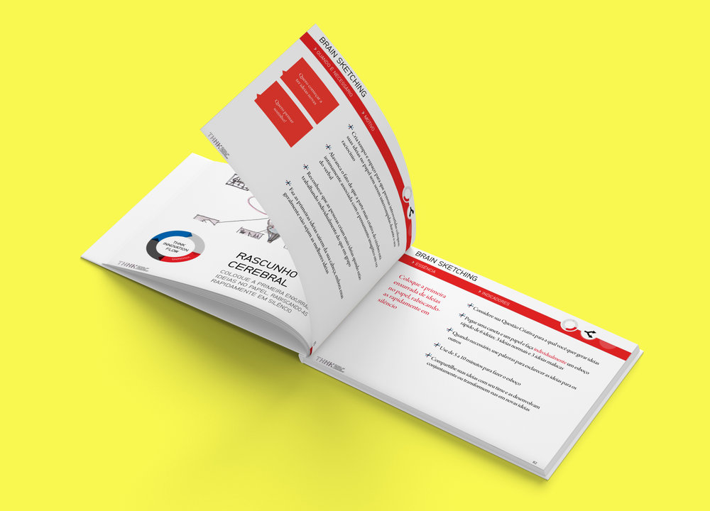 Innovation Flow - Insira suas informações para baixar o revolucionário Kit de Ferramentas de Design Thinking da THNK School of Creative Leadership em português.Crie produtos e serviços inovadores e mude os paradigmas do seu mercado com o material usado pela Universidade de Stanford e pela Polifonia!Neste download, você terá acesso à todas as partes do livro –Sensing, Visioning e Prototyping. Ao todo, são 160 páginas com dezenas de ferramentas e técnicas de inovação e criatividade para o seu desenvolvimento pessoal e profissional.