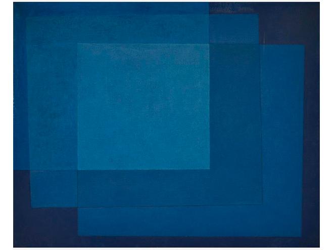 Arcangelo Ianelli -  Composição em Azul , 1974