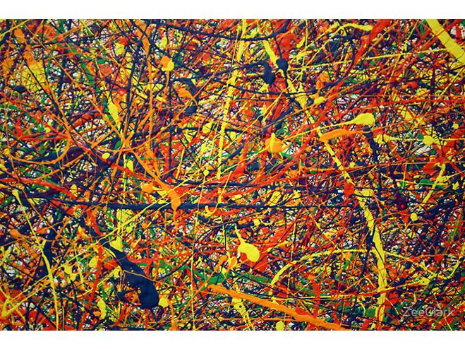 Jackson Pollock, Anomalia Vívida
