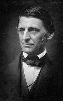 Ralph Waldo Emerson, American essayist, lecturer, and poet