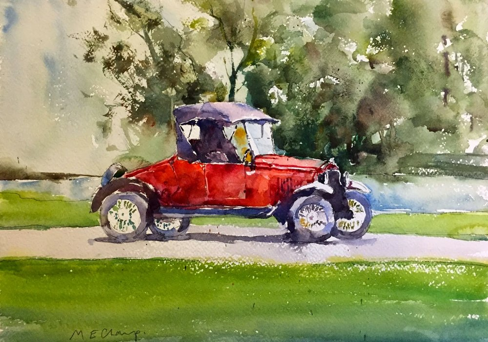 Model T Ford — Michele Clamp Art