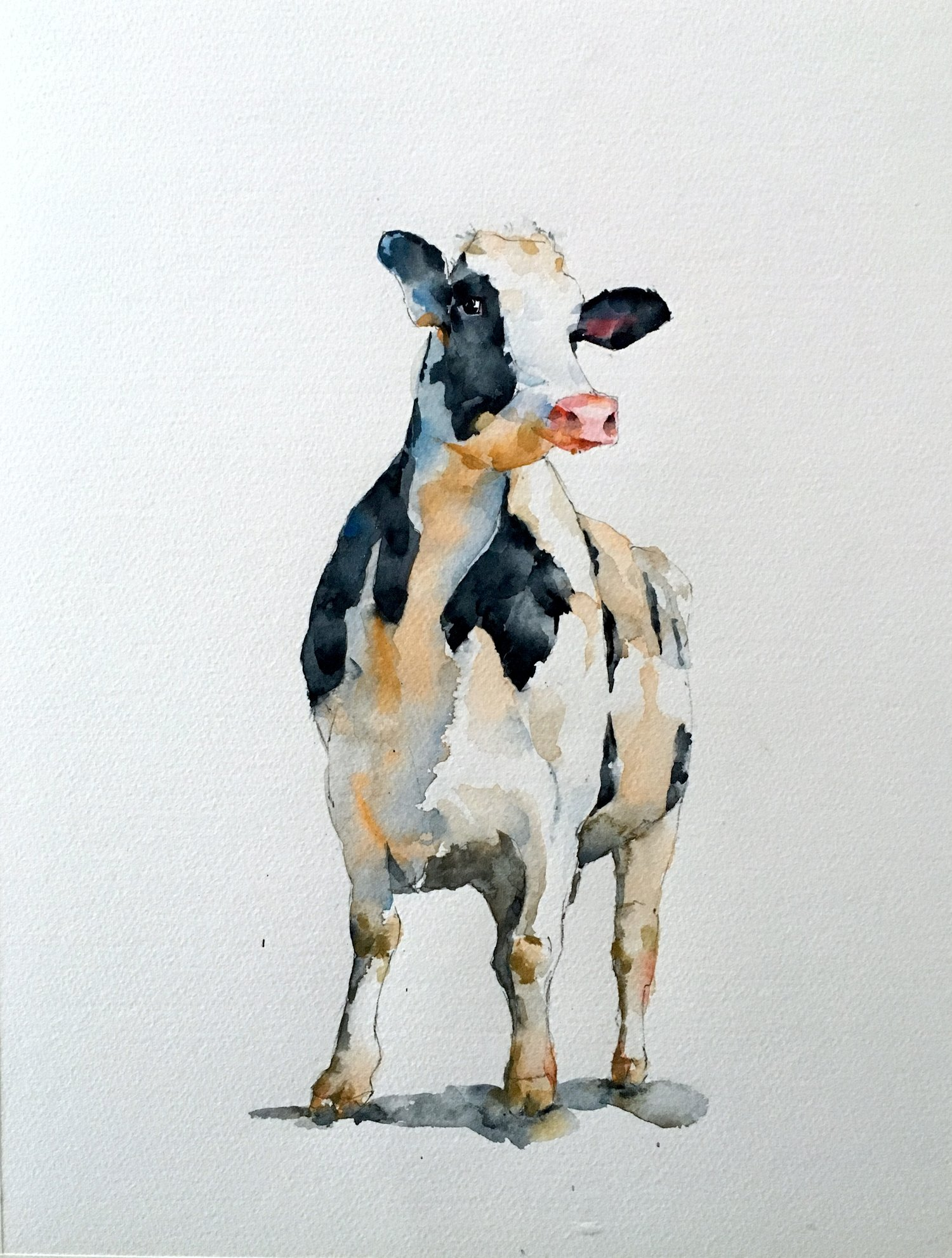 Standing Cow Michele Clamp Art