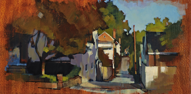 W Street Alley  (728), 2013, private collection