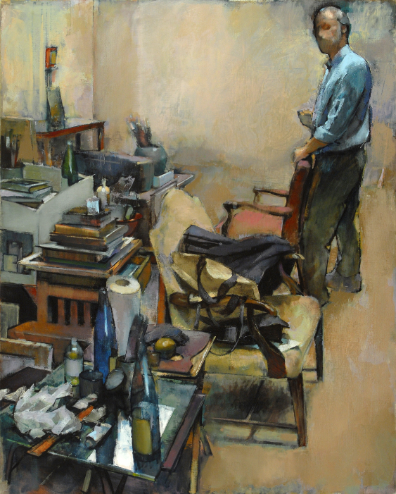Studio (Self-portrait) (687), 2006