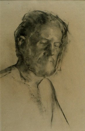 Conrad, charcoal, 1991