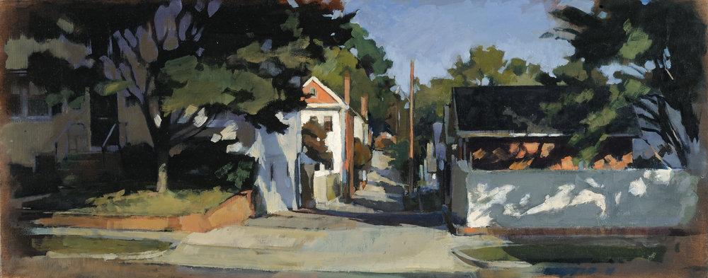 Alley Entrance (758), 2017
