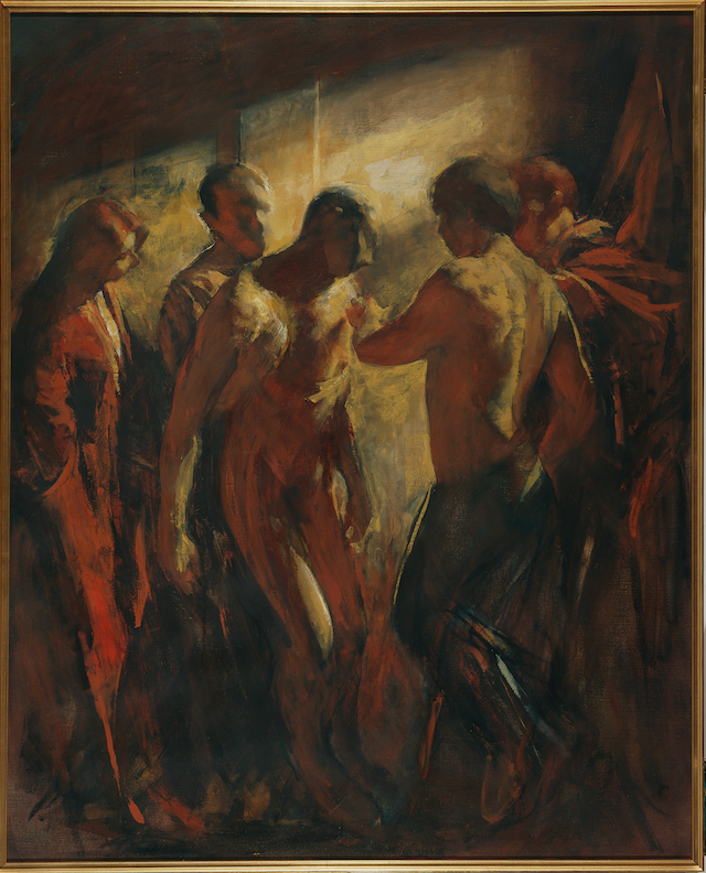 Ancient Dance (In memory of Aldo Moro) , 1988, private collection