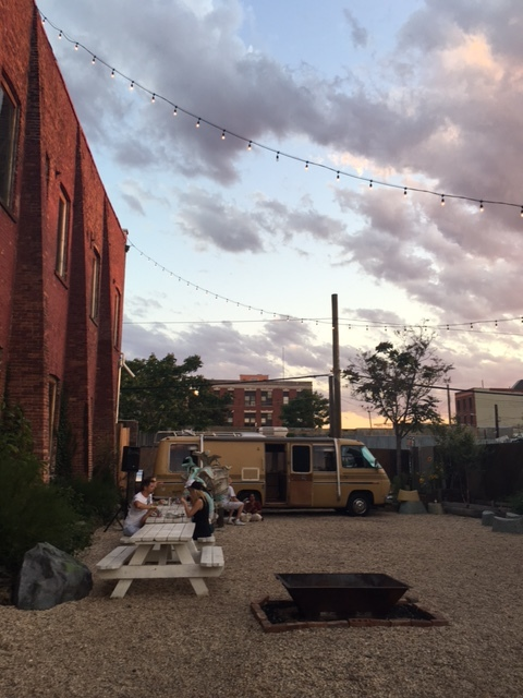 Sunset at Pioneer Works