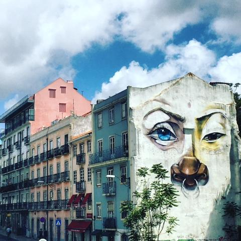 Lisbon Graffiti Art