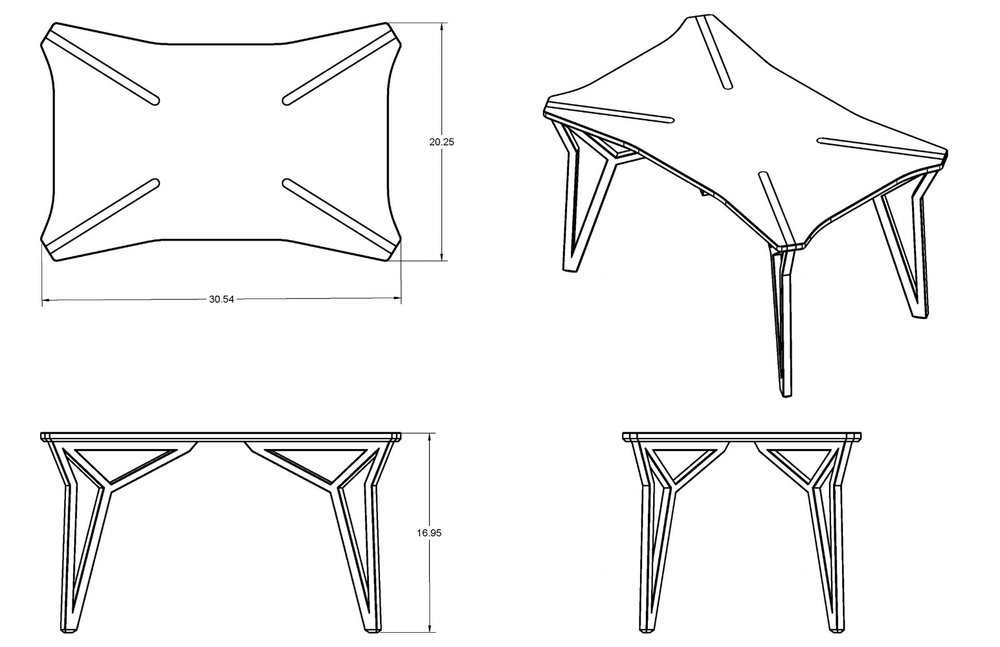 coffee table drawing.  Table Savage Coffee Table Drawing 1 V2_Sheet1jpg With