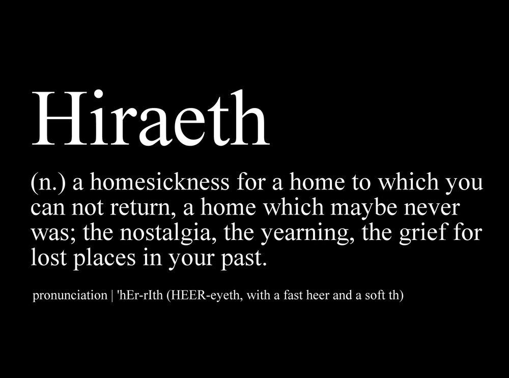 Hiraeth - 2013