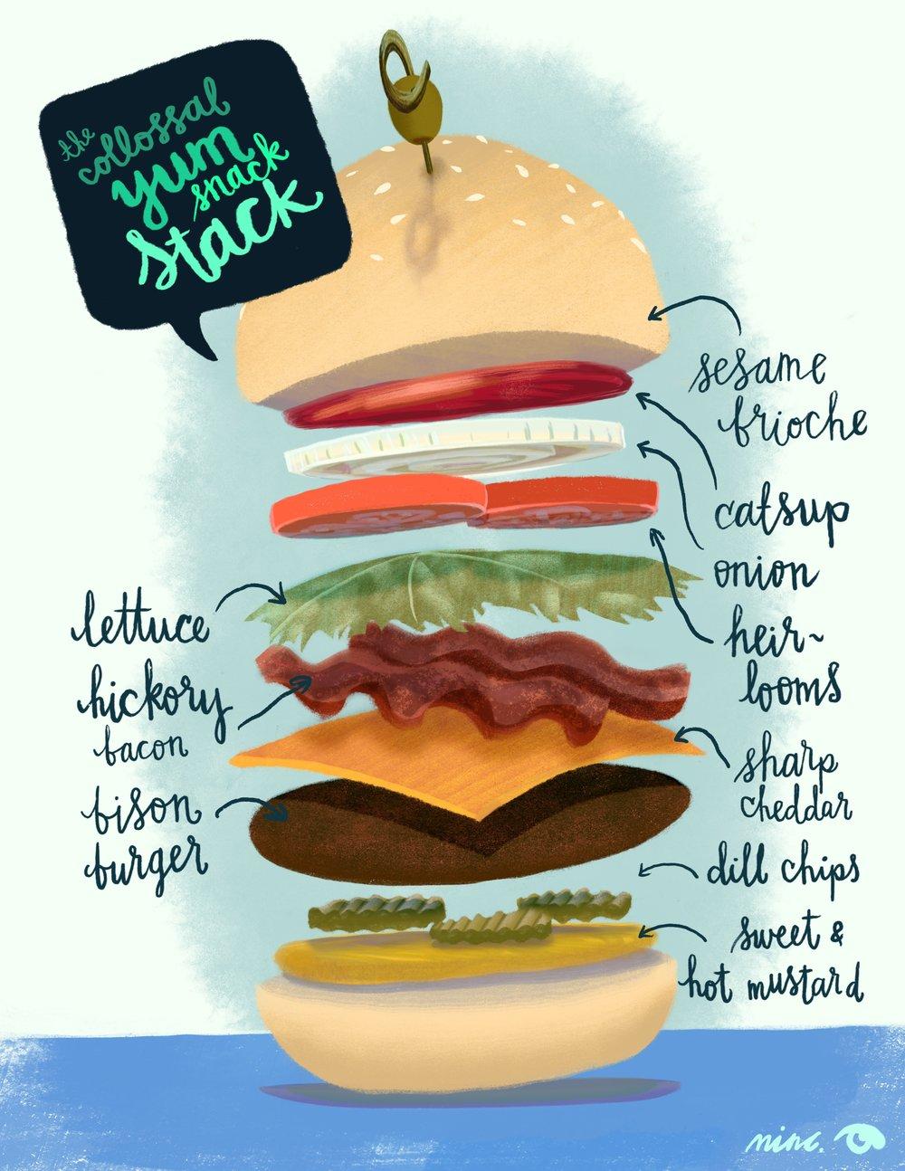 Burger Stack!