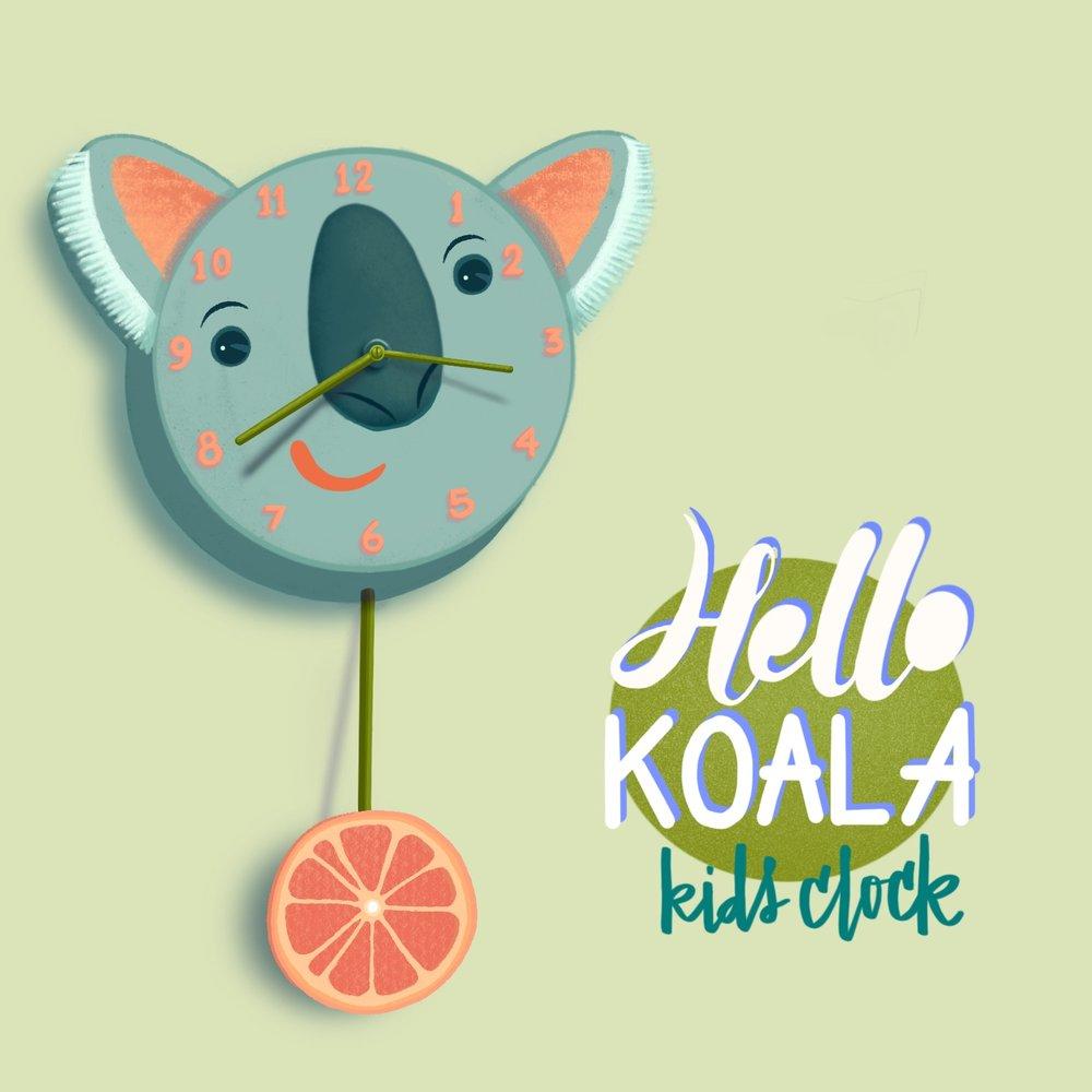 Hello Koala Clock