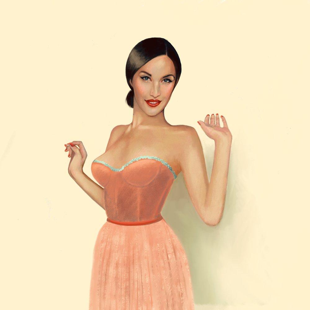 Cream Ballerina