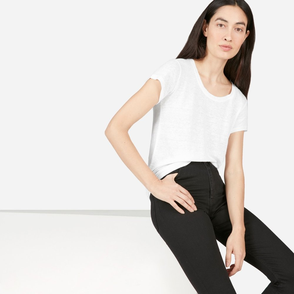 Linen Tee by Everlane