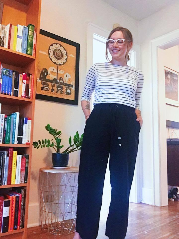 Pants: Thrifted / Top: Thrifted