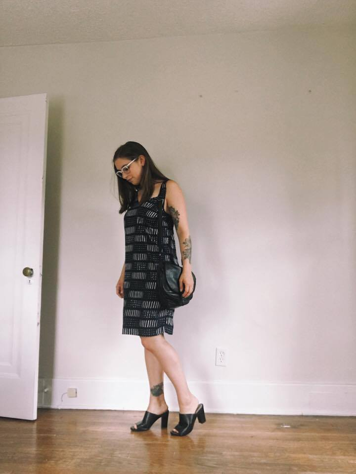Dress: Thrifted / Shoes: Thrifted / Bag: Thrifted