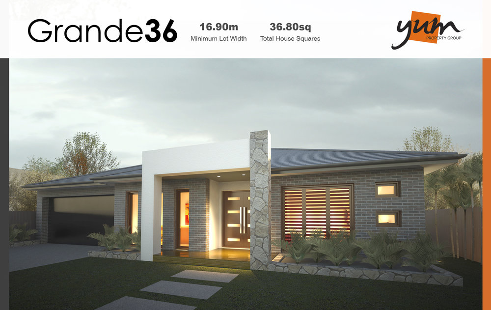 Grande Facade by  Yum Homes