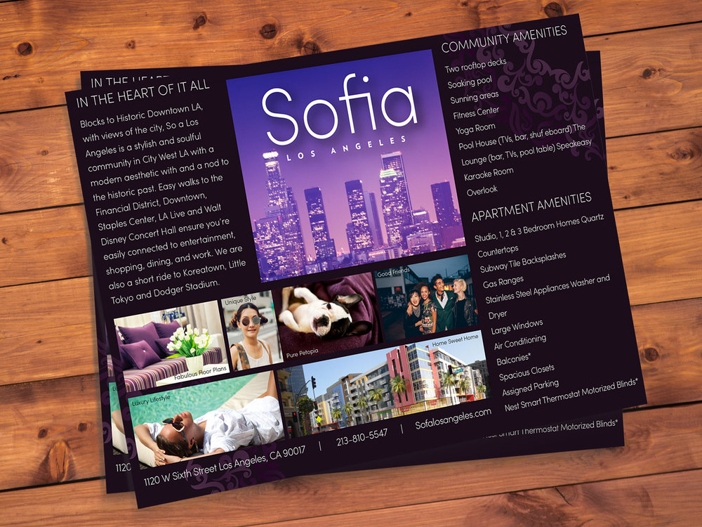 STOA One-sheet for Holland Properties [working under Racila Design]