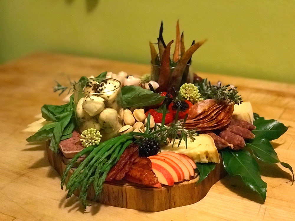 Winter Antipasto Platter