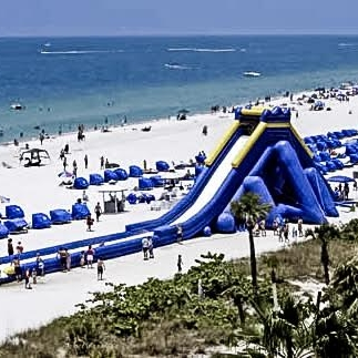Inflatable Water Slides and Obstacle Course