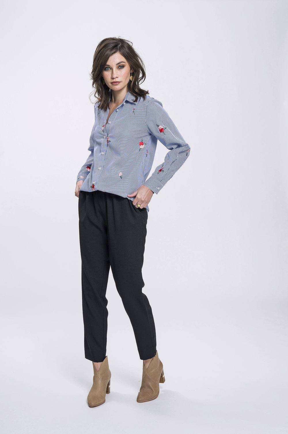 Vanessa Shirt & Yve Pants