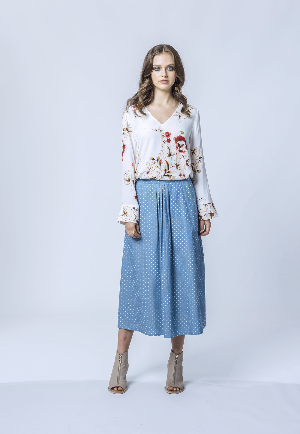 Michelle Top & Meredith Skirt